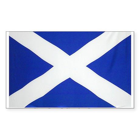 Scotland St Andrews Rectangle Sticker