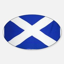 Scotland St Andrews Oval Decal