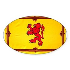 Scotland Lion Rampant Oval Decal