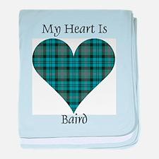 Heart - Baird baby blanket