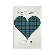 Heart - Baird Rectangle Magnet