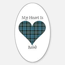 Heart - Baird Decal