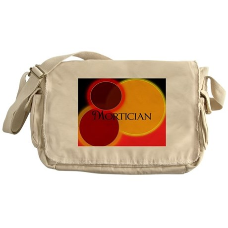 Mortician abstract 2 Messenger Bag