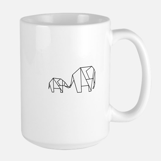 Origami Elephant Mug