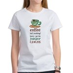 Get the Jumper Cables Women's T-Shirt