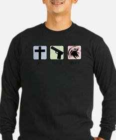 God, Guns, Glory. Long Sleeve T-Shirt