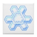 Flurry Snowflake XII Tile Coaster