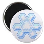 "Flurry Snowflake XII 2.25"" Magnet (10 pack)"