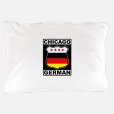 Chicago German American Sign Pillow Case