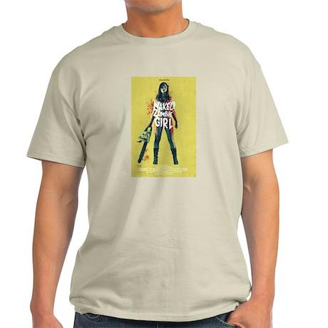 Naked Zombie Girl T-Shirt
