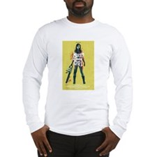 Naked Zombie Girl Long Sleeve T-Shirt