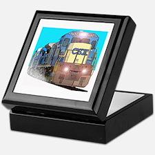 CSX Train Keepsake Box