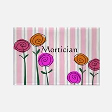 Mortician floral roses Rectangle Magnet