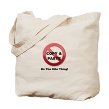 Do The Cite Thing Tote Bag