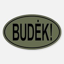 Budek! Olive Drab Decal