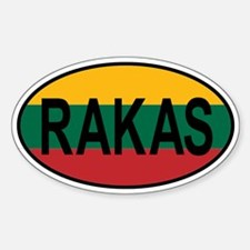 Rakas Flag Decal
