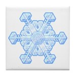 Flurry Snowflake XI Tile Coaster