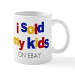 Sold Kids on Ebay Mug