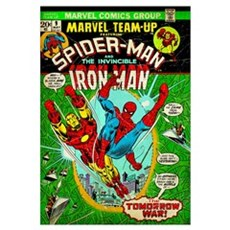Spider-Man And The Invincible Iron Man (...The Tom Poster