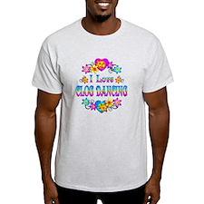 I Love Clog Dancing T-Shirt
