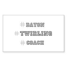 Hashtag Twirl Decal