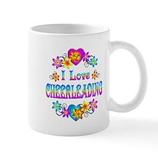 I Love Cheerleading Mug