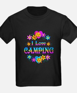 I Love Camping T