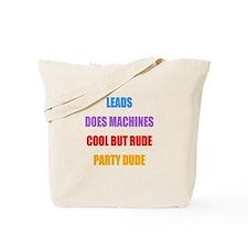 Theme Song Tote Bag