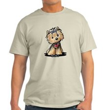 Tiny Heart Yorkie T-Shirt