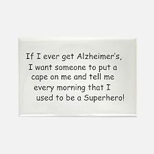 An Awww for Alzheimers Rectangle Magnet