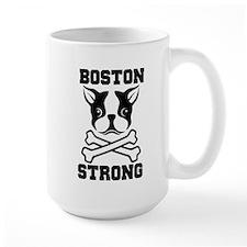 BOSTON STRONG Ceramic Mugs