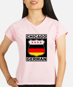 Chicago German American Sign Peformance Dry T-Shir