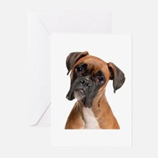 Boxer Greeting Cards (Pk of 10)