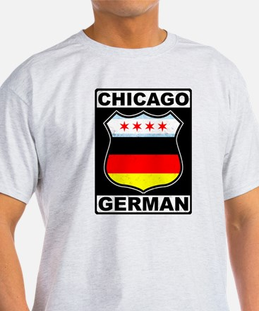 Chicago German American Sign T-Shirt