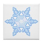 Flurry Snowflake X Tile Coaster