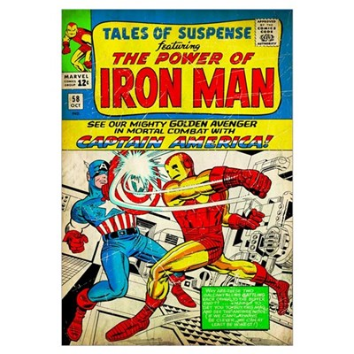 Tales Of Suspence Featuring The Power Of Iron Man Poster