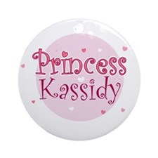 Kassidy Ornament (Round)