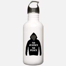 No Justice, No Peace Water Bottle