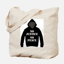 No Justice, No Peace Tote Bag