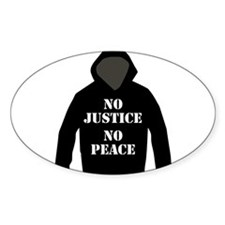No Justice, No Peace Decal