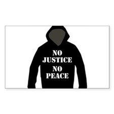 No Justice, No Peace Decal