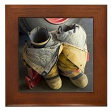 TURNOUT GEAR Framed Tile