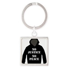 No Justice, No Peace Keychains