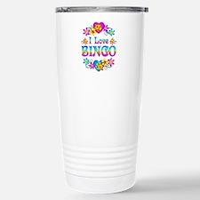 I Love Bingo Travel Mug