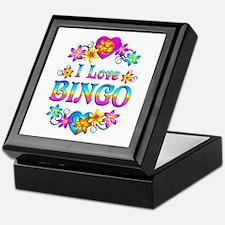 I Love Bingo Keepsake Box