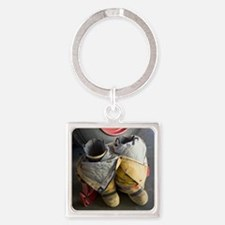 TURNOUT GEAR Square Keychain