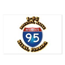Interstate - 95 Postcards (Package of 8)