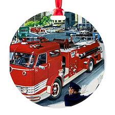 AT THE SCENE Ornament