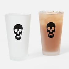 Mr. Skull Drinking Glass