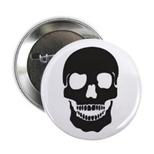 "Mr. Skull 2.25"" Button"